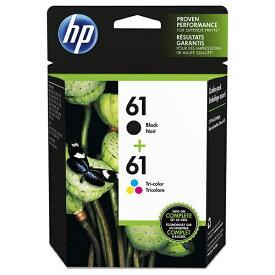 HP ヒューレット・パッカード CR311AA 純正プリンターインク 61 黒・3色カラー[CR311AA]
