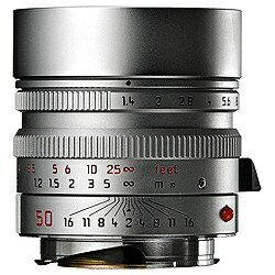 ライカ カメラレンズ ズミルックス M f1.4/50mm ASPH. (6bit) 11892C【ライカMマウント】[ズミルックスM1450MMASPHシル]