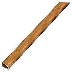 エレコム フラットモール テープ付 (長さ1m×幅17.0mm・ブラウン) LD-GAF1/BR[LDGAF1]