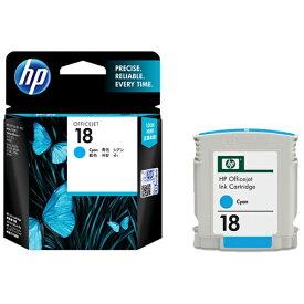 HP ヒューレット・パッカード C4937A 純正プリンターインク 18 シアン[C4937A]