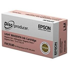 エプソン EPSON PJIC3LM 純正プリンターインク Disc producer(ディスク デュプリケーター)用 ライトマゼンタ[PJIC3LM]【rb_pcp】