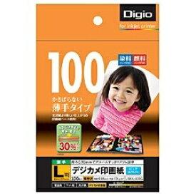 """ナカバヤシ Nakabayashi """"Digio"""" デジカメ印画紙 強光沢 (L判・100枚) LSK-L-100G[LSKL100G]【wtcomo】"""