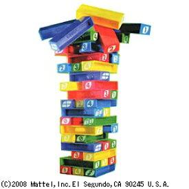マテル Mattel ウノ スタッコゲーム