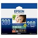エプソン EPSON 写真用紙 光沢 (L判・200枚) KL200PSKR