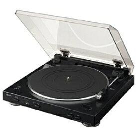 デノン Denon レコードプレーヤー(ブラック) DP-200USB-K [USBメモリ録音 /フォノイコライザー内蔵][DP200USBK]