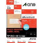 エーワン A-one ラベルシール プリンタ兼用 ホワイト 31512 [A4 /100シート /24面 /マット]【rb_mmme】