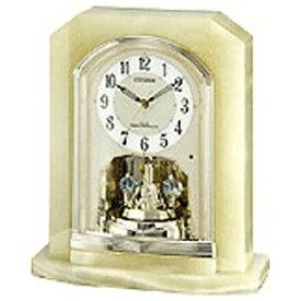 リズム時計 RHYTHM 置き時計 【パルラフィーネR691】 オニキス 4RY691-005 [電波自動受信機能有][4RY691005]