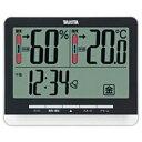 タニタ デジタル温湿度計 TT-538-BK(ブラック)[TT538BK]