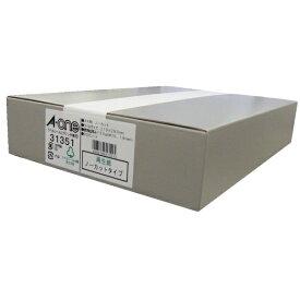 エーワン A-one ラベルシール プリンタ兼用 ホワイト 31351 [A4 /300シート /1面 /マット]【aoneC2009】