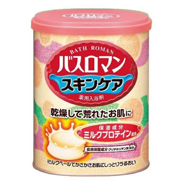アース製薬 バスロマン スキンケア ミルクプロテイン 680g〔入浴剤〕