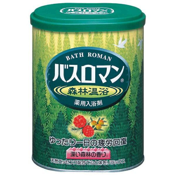 アース製薬 バスロマン 森林温浴 680g〔入浴剤〕