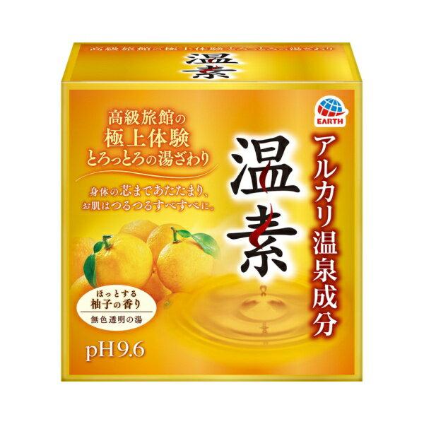 アース製薬 温素柚子の香り 30g×15包〔入浴剤〕