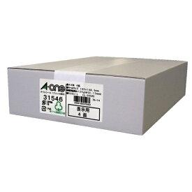 エーワン A-one ラベルシール プリンタ兼用 ホワイト 31546 [A4 /500シート /4面 /マット]