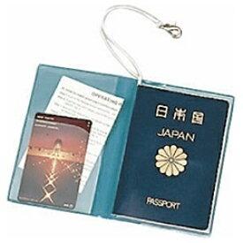 JTB SWT パスポートカバー クリア 青