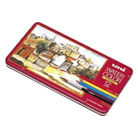 三菱鉛筆 MITSUBISHI PENCIL [水彩色鉛筆] ユニ ウォーターカラー (12色) UWC12C[UWC12C]
