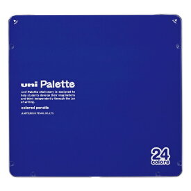 三菱鉛筆 MITSUBISHI PENCIL [色鉛筆] No.880 uni Palette 青 24色 K88024CPLT.33