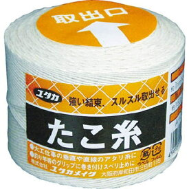 ユタカメイク YUTAKA 荷造り紐 たこ糸 1.5φ×190m A301