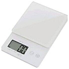 ドリテック dretec デジタルスケール 「ストリーム」(2kg) KS-245WT ホワイト[KS245]