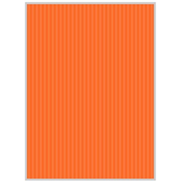 ヒサゴ リップルボード[クラフトペーパー](B3ノビサイズ:3シート/オレンジ) RB06