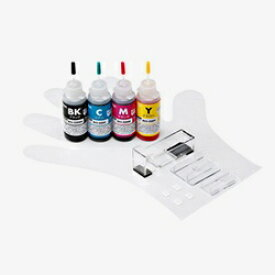 サンワサプライ SANWA SUPPLY INK-C326S30S4 詰め替えインク 4色[INKC326S30S4]【wtcomo】