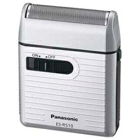 パナソニック Panasonic メンズシェーバー シルバー調 ES-RS10-S [1枚刃][電気シェーバー 髭剃り ESRS10S]