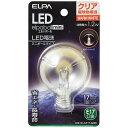 ELPA(エルパ) LED装飾電球 「LEDエルパボールmini」(ミニボール電球形[G50形]・全光束45lm/クリア電球色相当・口金E17) LDG1CL-...