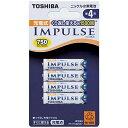 東芝 TOSHIBA TNH-4A 単4形 充電池 IMPULSE(インパルス) [4本][TNH4A4P]