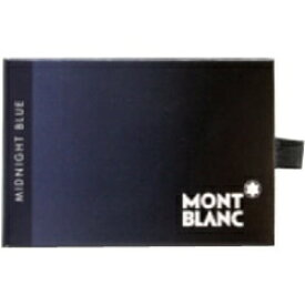 モンブラン MONTBLANC カートリッジインク(ミッドナイトブルー)