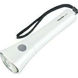 東芝 LED懐中電灯(単3形×2本) KFL-302-W ホワイト[KFL302W]