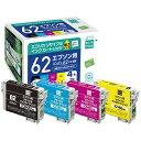 エコリカ ecorica ECI-E624P/BOX 互換プリンターインク 4色[ECIE624PBOX]【wtcomo】