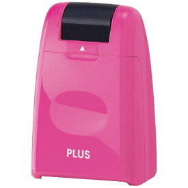 プラス PLUS 個人情報保護スタンプ「ローラーケシポン」(レギュラーサイズ26mm幅・ピンク) IS-500CM-BPK[IS500CMBPK]