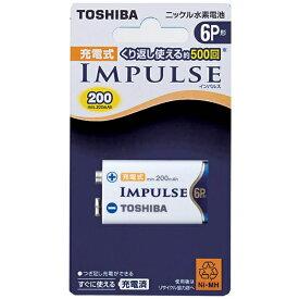 東芝 TOSHIBA 【6P形ニッケル水素充電池】 1本 「IMPULSE」 6TNH22A[6TNH22A]