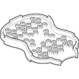 オムロン OMRON 導子収納具(パッド貼付板) HV-LLPAD-EHOLD[HVLLPADEHOLD]