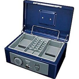 アスカ ASKA MCB580 手提金庫 B5サイズ Asmix(アスミックス) ブルー [鍵式+ダイヤル式]
