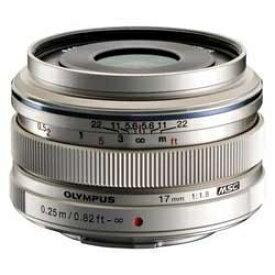 オリンパス OLYMPUS カメラレンズ 17mm F1.8 M.ZUIKO DIGITAL(ズイコーデジタル) シルバー [マイクロフォーサーズ /単焦点レンズ][17MMF1.8]