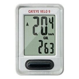 キャットアイ CATEYE サイクルコンピューター Velo 9(ホワイト) CC-VL820[CCVL820]