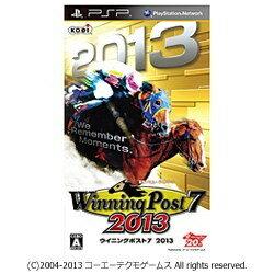 コーエーテクモゲームス Winning Post 7 2013【PSP】[WINNINGPOST72013]