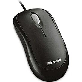 マイクロソフト Microsoft 4YH-00003 マウス Basic Optical Mouse セサミブラック [光学式 /3ボタン /USB /有線][4YH00003]