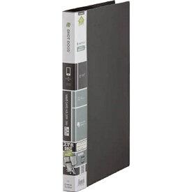 キングジム KING JIM スマートフォン用 ショットドックス 名刺ホルダー 差し替え式 (A4・300ポケット・ブラック) 36SD BK
