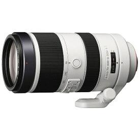 ソニー SONY カメラレンズ 70-400mm F4-5.6 G SSM II ホワイト SAL70400G2 [ソニーA(α) /ズームレンズ][SAL70400G2]