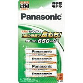パナソニック Panasonic BK-4LLB/4B BK-4LLB/4B 単4形 充電池 EVOLTA e(エボルタ) お手軽モデル [4本][BK4LLB4B] panasonic