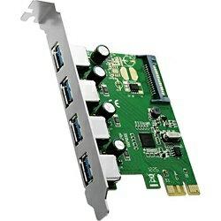 AREA(エアリア) USB3.0(4ポート)増設用 PCI Expressボード SD-PEU3R-4E[SDPEU3R4E]