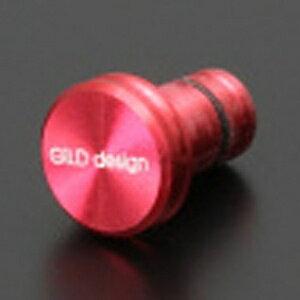 GILDDESIGN 〔イヤホンジャックアクセサリー〕 New earphone jack cover レッド GA-200R[GA200R]