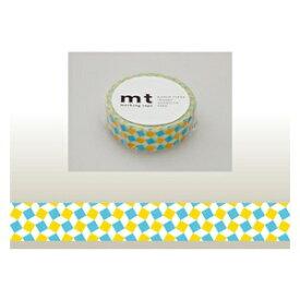 カモ井加工紙 KAMOI mt マスキングテープ(スクエア・イエロー) MT01D178