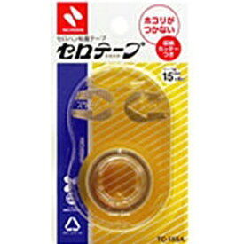 ニチバン NICHIBAN [テープ] セロテープ 小巻 収納カッターつき 透明 (サイズ:15mm×8m) TC-15SA[TC15SA]