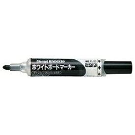 ぺんてる Pentel [ホワイトボードマーカー] ノックル <中字> (インキ色:黒) EMWLM-A[EMWLMA]