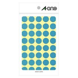 エーワン A-one カラーラベル 空 07026 [14シート /40面 /光沢]【aoneC2009】