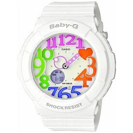 カシオ CASIO Baby-G(ベイビージー) 「Neon Dial Series(ネオンダイアルシリーズ)」 BGA-131-7B3JF[BGA1317B3JF]