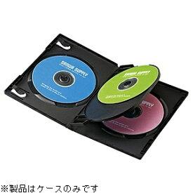 サンワサプライ SANWA SUPPLY Blu-ray/DVD/CD対応トールケース 4枚収納×3 ブラック DVD-TN4-03BK[DVDTN403BK]