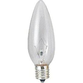 ヤザワ YAZAWA C321760C 電球 クリア [E17 /電球色 /1個 /シャンデリア電球形][C32E1760C]